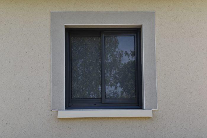 fenêtre gris anthracite